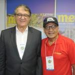 Arialdo Pinho, secretário de Turismo do Ceará, e Cesar Aveiro, da Avirrp