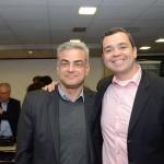 Augusto Bezerra, da Localiza, e Edmilson Romão, presidente da Abav-SP