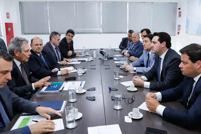 Autoridades participam de reunião em Brasília para tomada de decisões