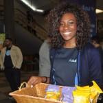 Azul serviu seus snacks para os passageiros que passaram pelo Aeroporto de Congonhas