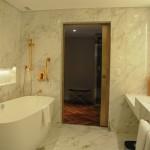 Banheiro da Signature Suite