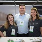 Barbara Carneiro, Alexandre Navarro e Renata Morgan, do Transamerica