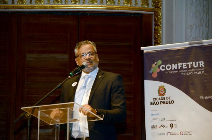 Bob Santos, do Ministério do Turismo