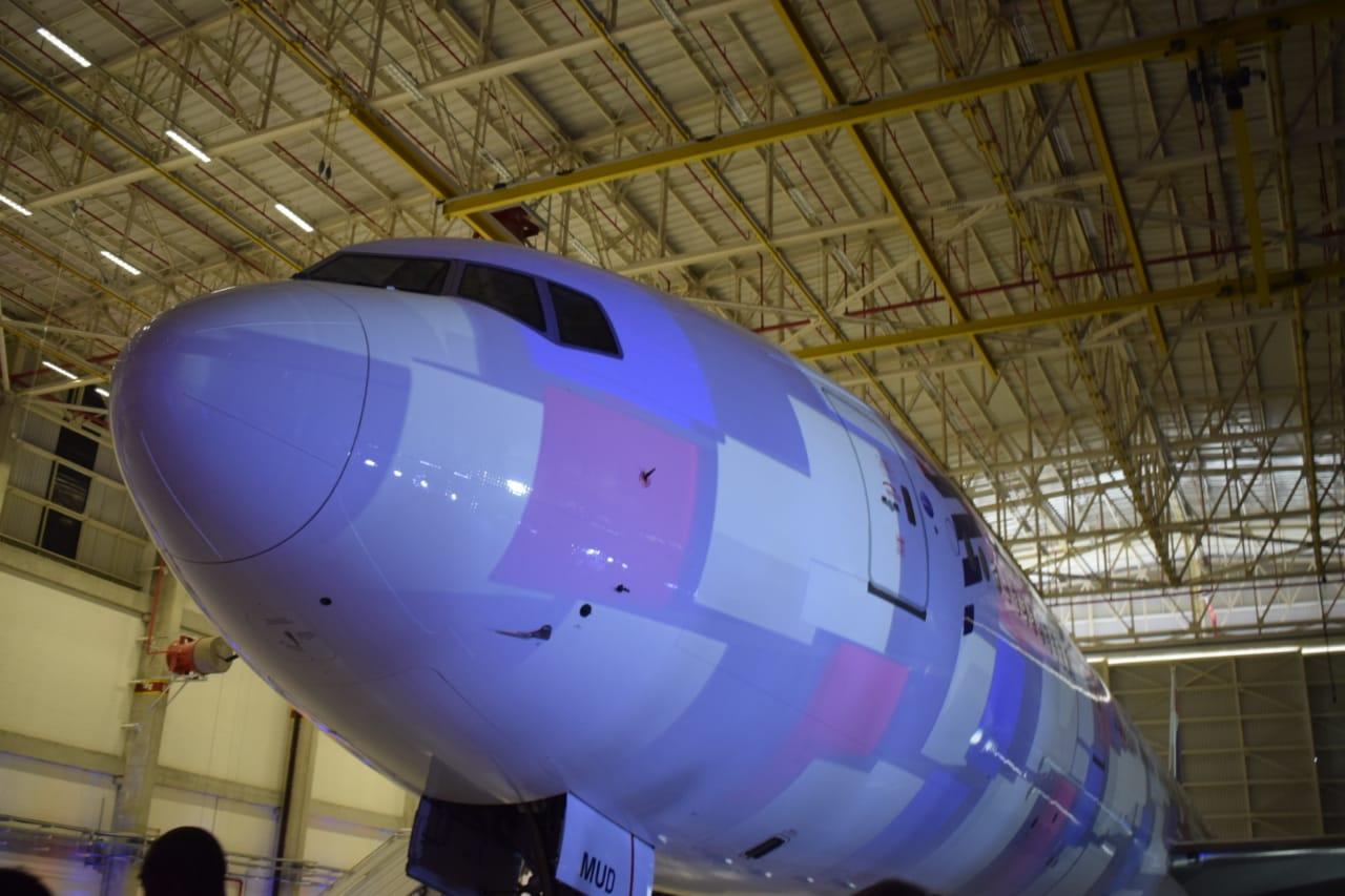 Boeing 777 da Latam Brasil