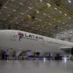 Boeing 777 da Latam com nova configuração