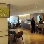 Coa&Co Café está localizado no andar térreo