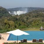 Após cerimônia no aeroporto, um almoço seguido de coletiva de imprensa aconteceu no Gran Meliá Iguazú