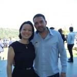 Claudia Shishido da Air Europa e Guilherme Ribas da Frontur Consolidação