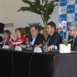 A coletiva de imprensa reuniu entidades importantes da Air Europa, Argentina, Paraguai e Espanha