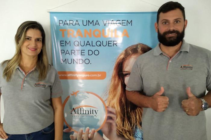 Daniella Parreiras e Gustavo Falchetto