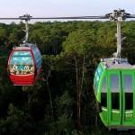 Disney Skyliner proporciona uma vista aérea do complexo