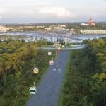 Disney Skyliner contará com cinco paradas inicialmente