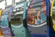 Disney Skyliner abrirá em setembro; veja fotos