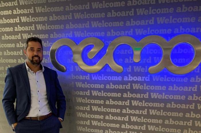 Eduardo Batista no novo escritório da nemo, em São Paulo