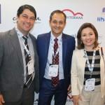 Emerson Stein, de Porto Belo-SC, com Leandro ferrari e Flavia Didomenico, da Santur