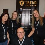 Equipe de Atendimento da Base da Região Sul da Trend liderados pelo Gustavo Hahn