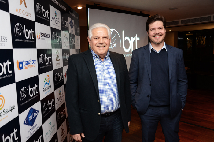 Eraldo Palmerini, presidente, e Marco Aurelio Di Ruzze, vice presidente do Grupo BRT