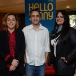 Fabíola Silva, da CVC Corp, Renato Leal, da Submarino Viagens, e Ana Neigenfind, da Azul Viagens