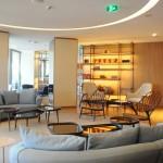 Fairmont Gold Lounge é exclusivo para clientes dos apartamentos localizados no 13° andar