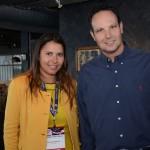 Fernanda Paranhs, da CVC Corp, e Marco Fabio, da Interpoint