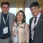 Gabiano Gama, Luciana Quintana e Antonio Duarte, da MSC