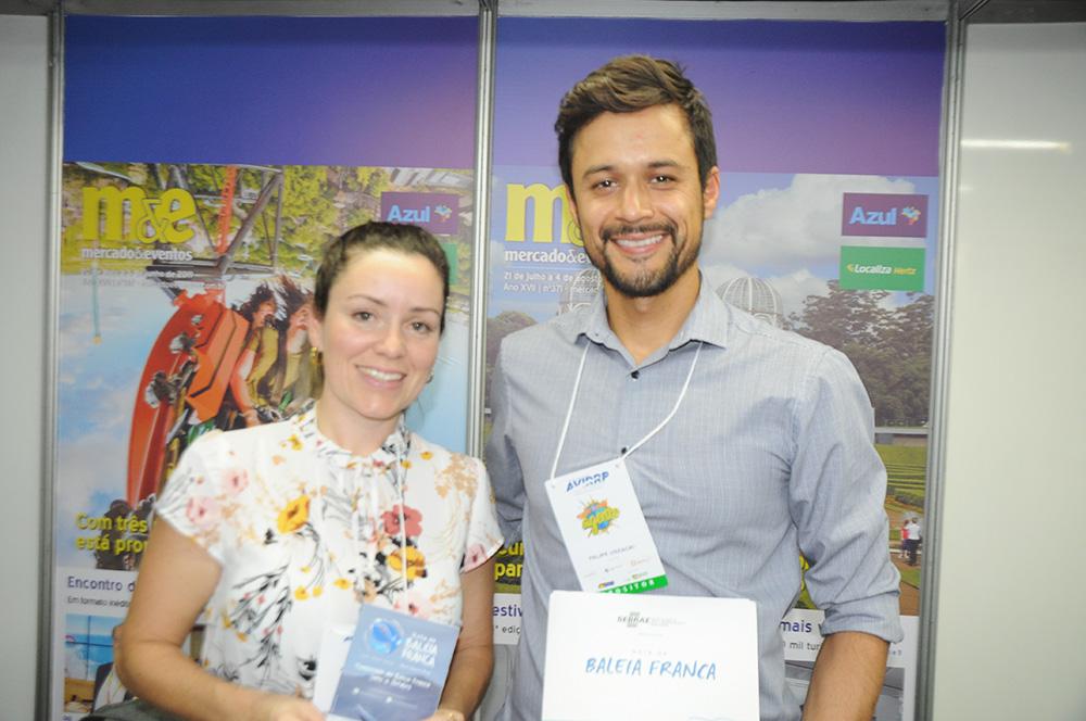 Gisele Martins e Rafael Uszacki, da Rota da Baleia Franca