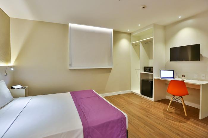 Go Inn by Atlantica Hotels Serra é o único hotel da região de marca econômica que possui salas de eventos