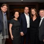 Gonzalo Romero e Claudia Shishido, da Air Europe, Gleyson Ranieri e Sandra Passetto, da Air Canada, e Luis Quaggio, da TAP