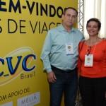 Humberto Mendes e Odete Hunglaub, da Bora Lá Brasil
