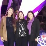 Isabela Kancelskis, da Premium Travel), Débora Keszek, especialista Produtos Internacionais da Trend, e Carolina Harumi, da Premium Travel