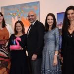 Joe Docal, Diretor de Vendas do GMCVB para América Latina, Debora Prass, Ana Maria Donato, Daniela Bergamini, e Thatiana Leal, da Imaginadora
