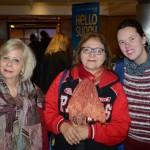 Juçara Alonso, da JA Assessoria em Turismo, Hilda Sumi, da HS Turismo, e Hanne Karnopp, da HK