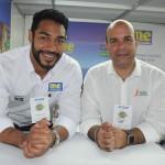 Juliano Braga, do M&E, e Raul Monteiro, da Velle