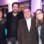 Karoline Lima, Francisco Netto, Fernando Prado, da Trend, e Suelen Garcia da Personal Travel