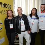 Kelly Batista, Raphael Albuquerque, Erionete Moreira, da Hany Chan Eventos, e Anderson Alex