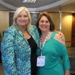 Kelly Craighead, da Clia, e Marcia Leite, da MSC