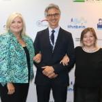 Kelly Graighead, CEO da Clia, Marco Ferraz e Estela Farina, da Clia Brasil