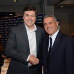 Kleber da Silva. da Abreu, e Marco Cardoso, da MSC Cruzeiros