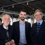 Leonel Rossi, Tiago Barbosa, da Flot, e Marco Ferraz, da Clia Abremar