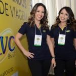 Luana Barbosa e Thalita Carrião, da CVC Corp