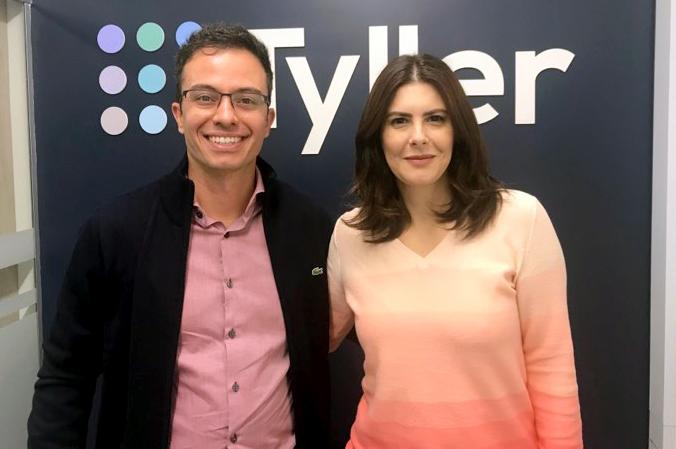 Lucas Paci e Flavia Pirola, diretores da Tyller