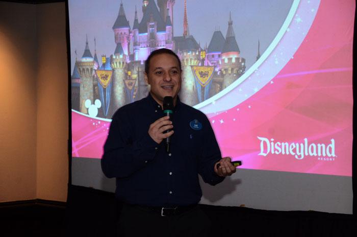 Luiz Araujo, da Disney
