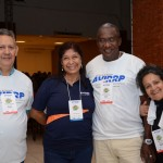 Luiz Carlos, Extrema Viagens, Eloiza Helena, da Avirrp, Olante Deodoro, da Cores Vivas Turismo, e Edna Veloso, Freelance