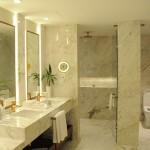 Mais uma do banheiro da Signature Suite