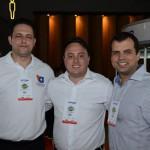 Marcio Augusto, Renato Dassan e Tiago Mucsi, da Travel Ace