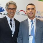 Marco Ferraz, da Clia Brasil, com Rafael Brito, secretário de Turismo de Alagoas
