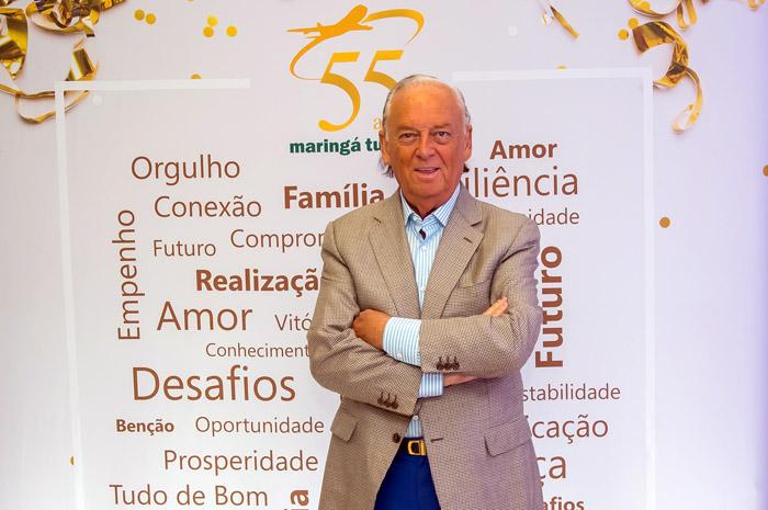 Marcos Arbaitman, presidente da Maringá Turismo