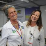 Mari Masgrau, do M&E, e Mônica Miotto, da Travel Hub
