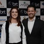 Mariana Funcia, da BRT, e Ricardo Dias, da GJP