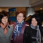 Marta Ogata, da Asia Total, Marli Pinto, do Comudos Viagens, e Marizia de Fátima, da Kartur Viagens e Turismo